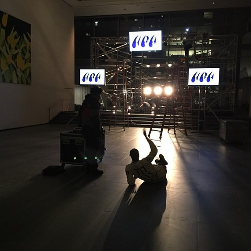 EMERGE ALPHABET FORHOOD BY AIR  production still HBA at MoMA