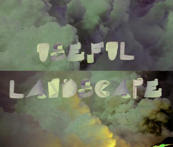 USEFUL LANDSCAPE POSTER / YOHJI YAMAMOTO ALHPABET