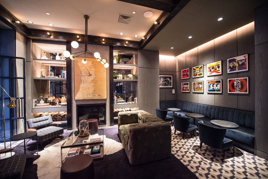 The Gordon Bar John McDonalds Super Stylish New Lobby Cocktail Lounge In Sixty Soho