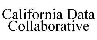 "The California Data Collaborative (""CaDC"") is a coalition of water utilities that have pioneered a new data infrastructure non-profit to support water managers in meeting their reliability objectives and serve the public good."