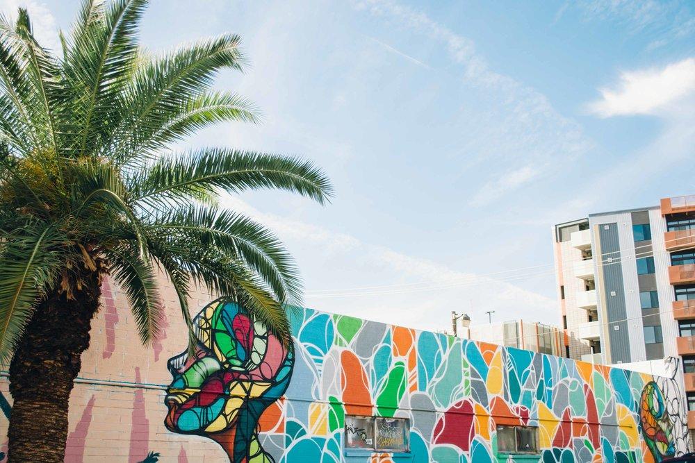 Touches of color in Phoenix, Arizona