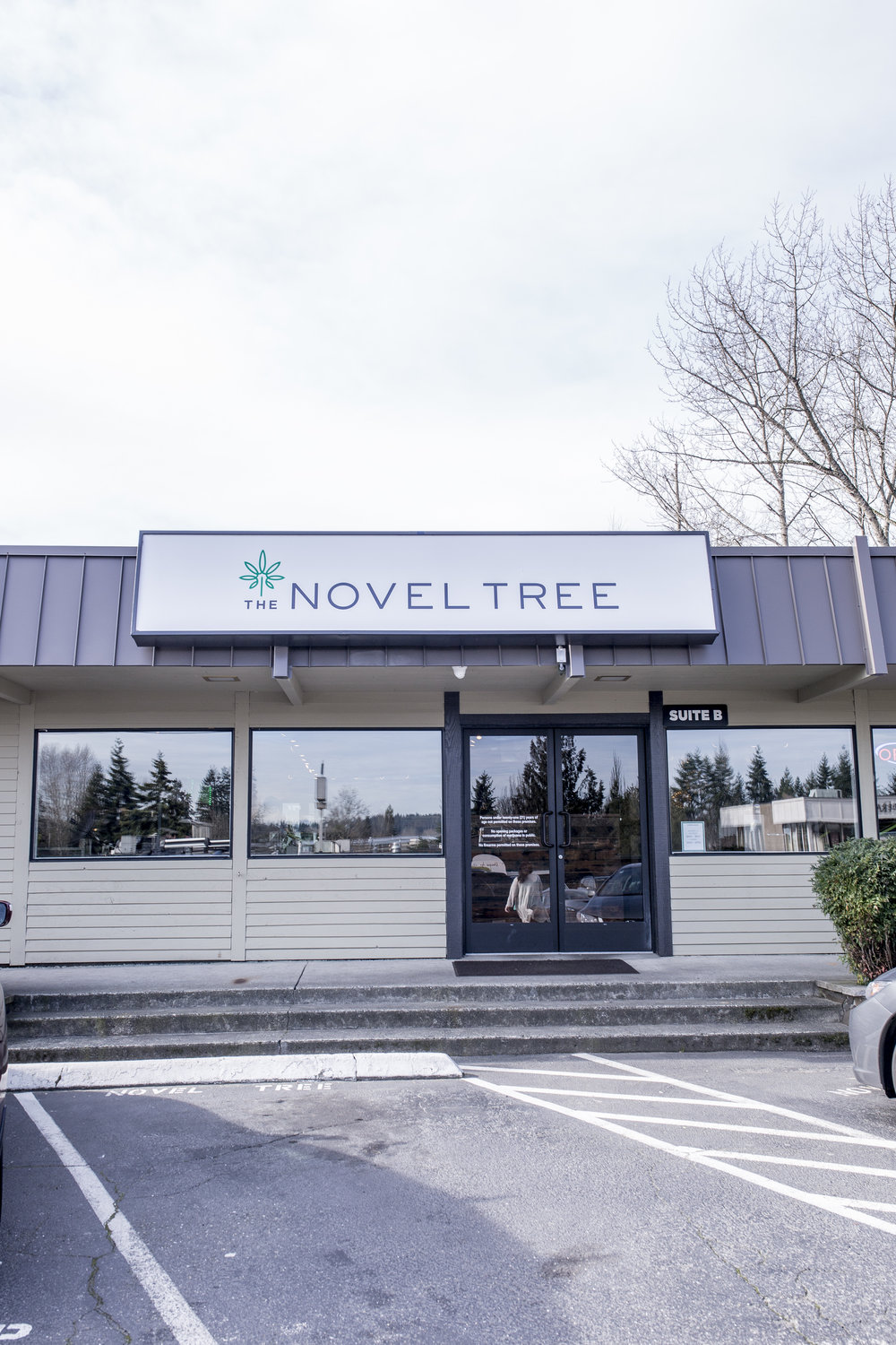 Novel Tree Marijuana Store Front