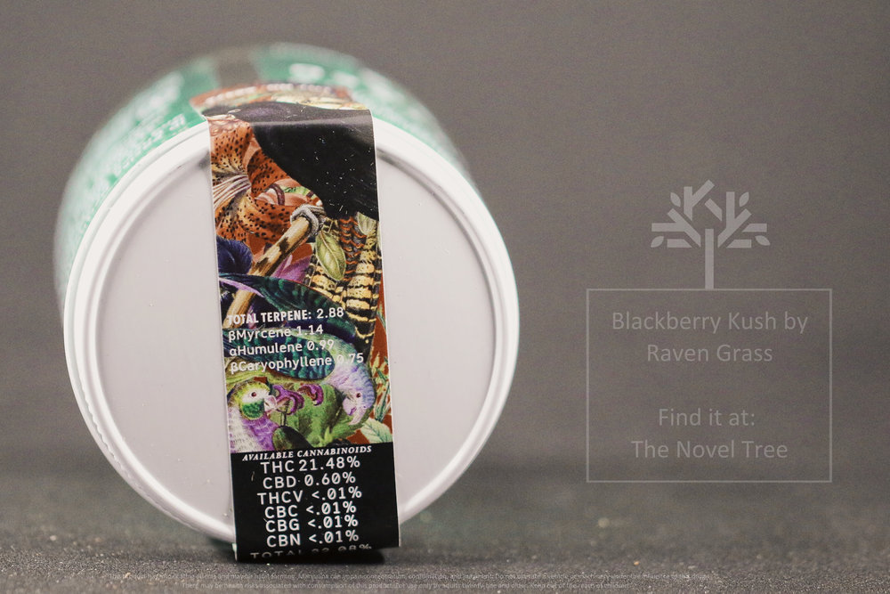 The Novel Tree - Raven Grass - Blackberry Kush 3.jpg