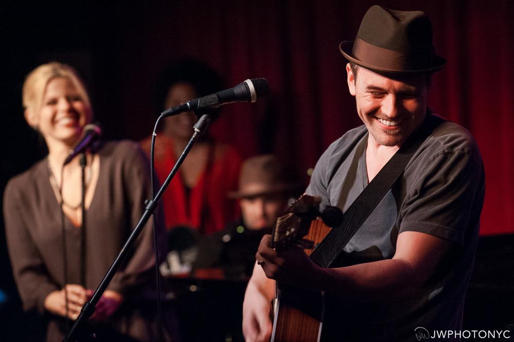 Brian Gallagher at Birdland Jazz Club.