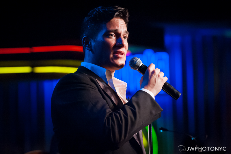 "Nicolas Rodriguez in his show, ""The First Time"" at Birdland Jazz Club, June 28th, 2015."