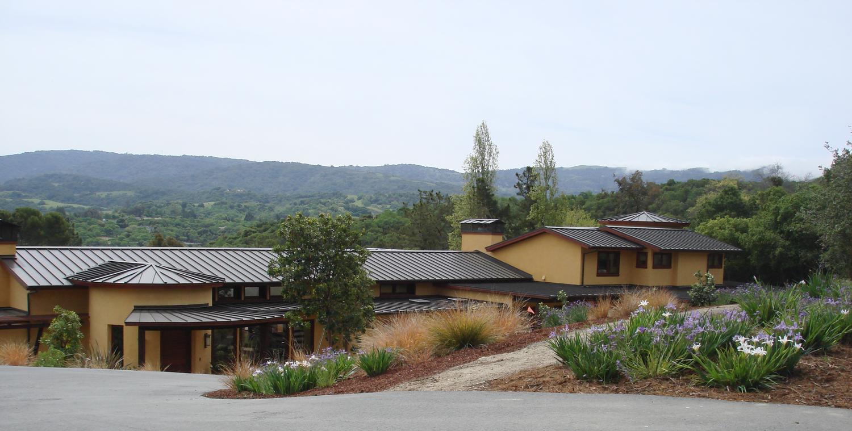 Bay area landscape architects - Cleaver Design Associates Landscape Architect Alamos Project Portola Valley Ca San