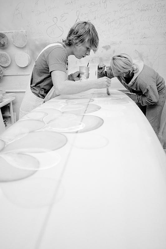 Serena & Ashley paint