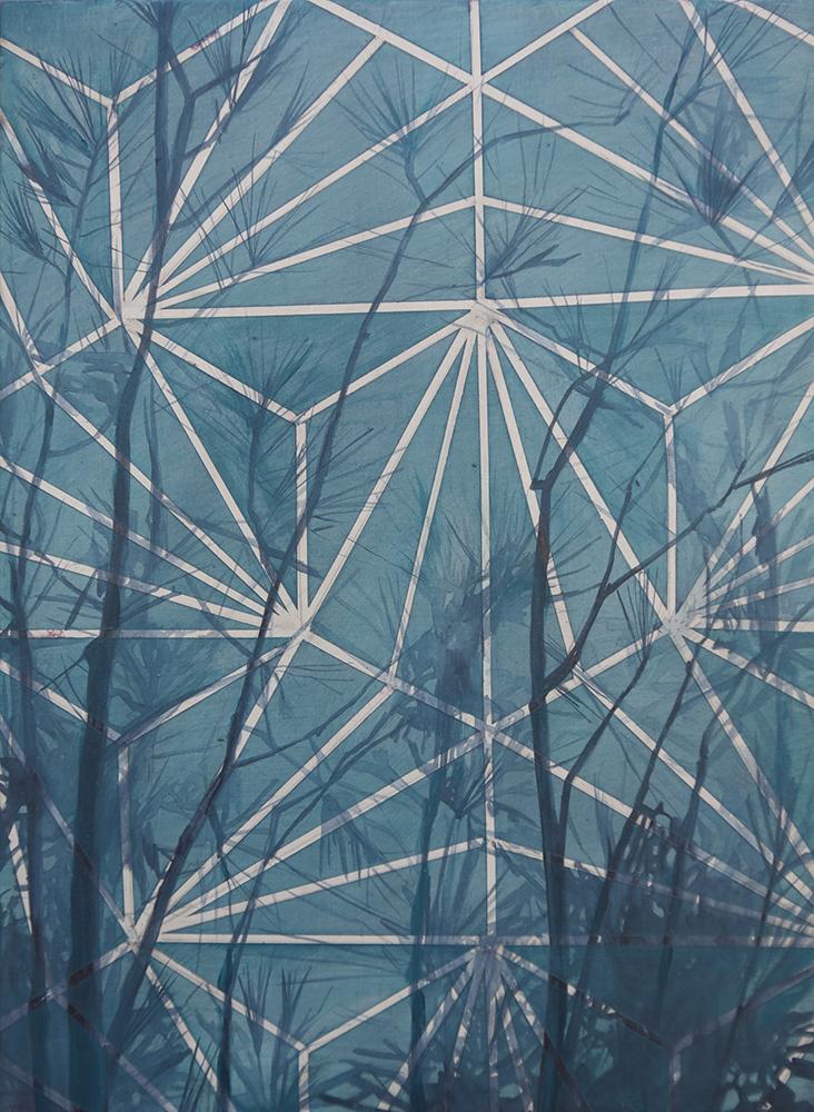 Pines (Blue)