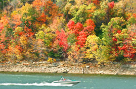 tablerocklake boat and fall colors.jpg
