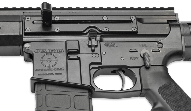 Left side charging handle