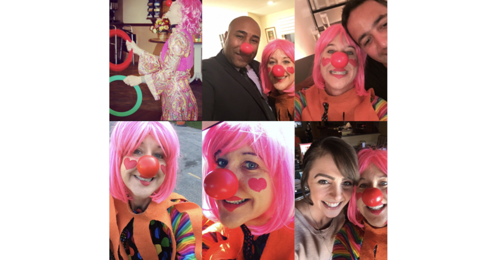 BEE BEE Clown is now in Western Michigan - Hire your new entertainer