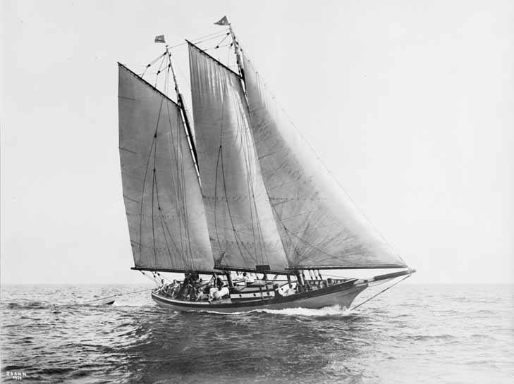 THE SCHOONER JOANN, BY L. FRANCIS HERrESHOFF            IMAGE:   WOODENBOAT.COM