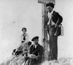 Ink Well Beach Santa Monica circa 1940
