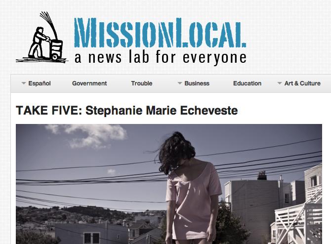 Take Five-Mission Local-Stephanie Echeveste