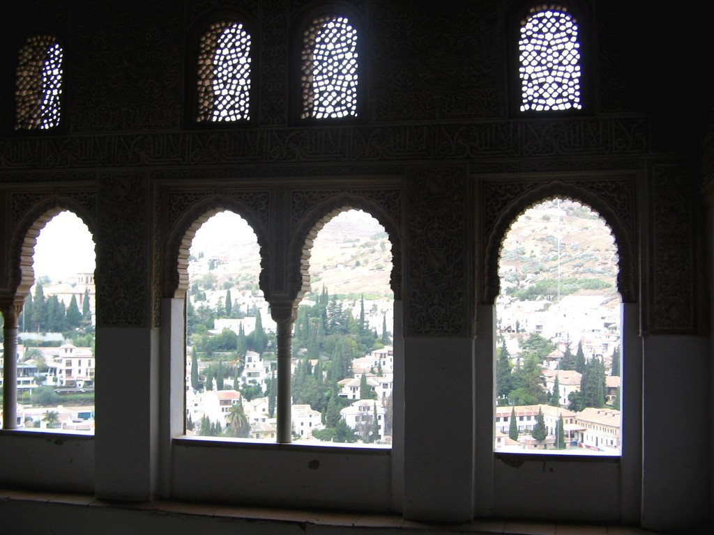 city view from Alhambra