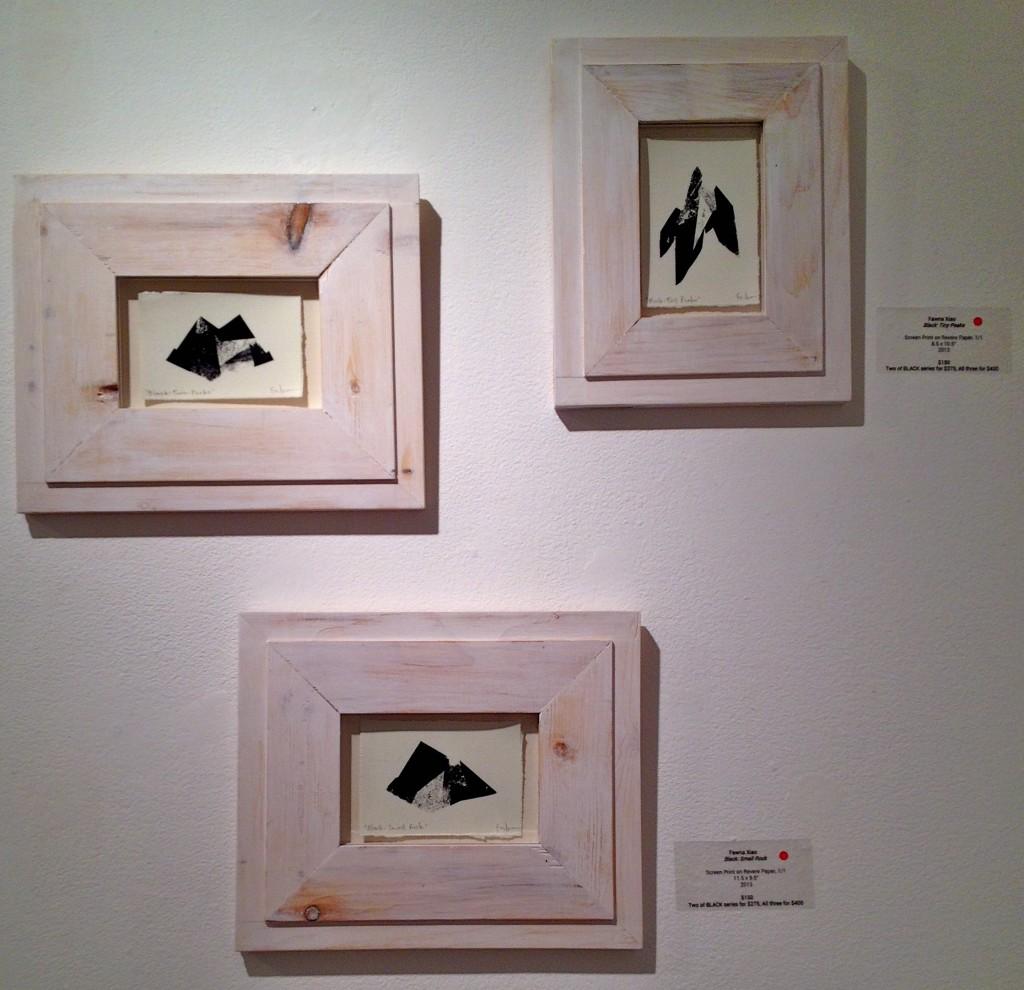 FawnaXiao-Black--Twin Peaks, Tiny Peaks, Small Rock