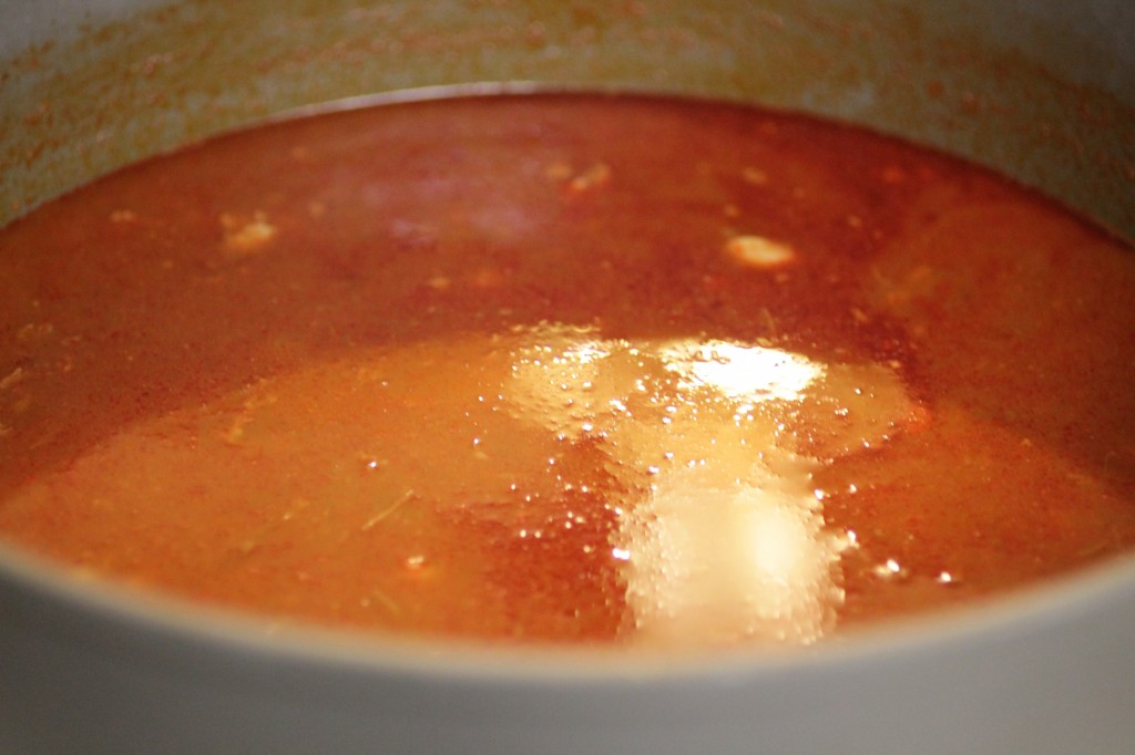 sauce photo red pozole