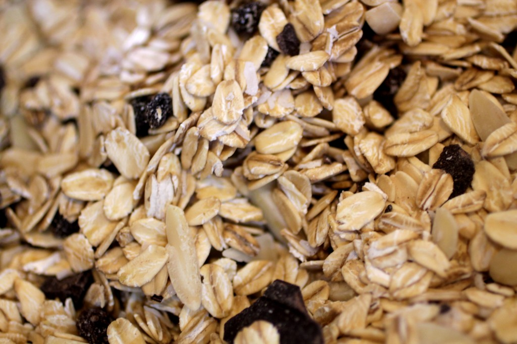 Oats for delicious granola bars
