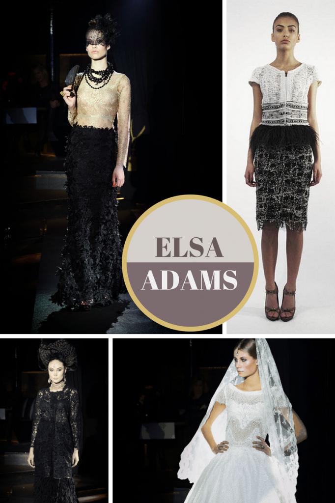 Elsa Adams Danish Fashion Designer