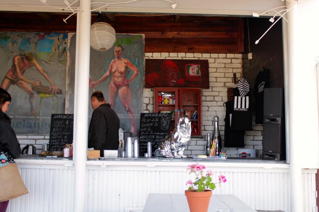 Patarei Kohvik Tallinn cafe