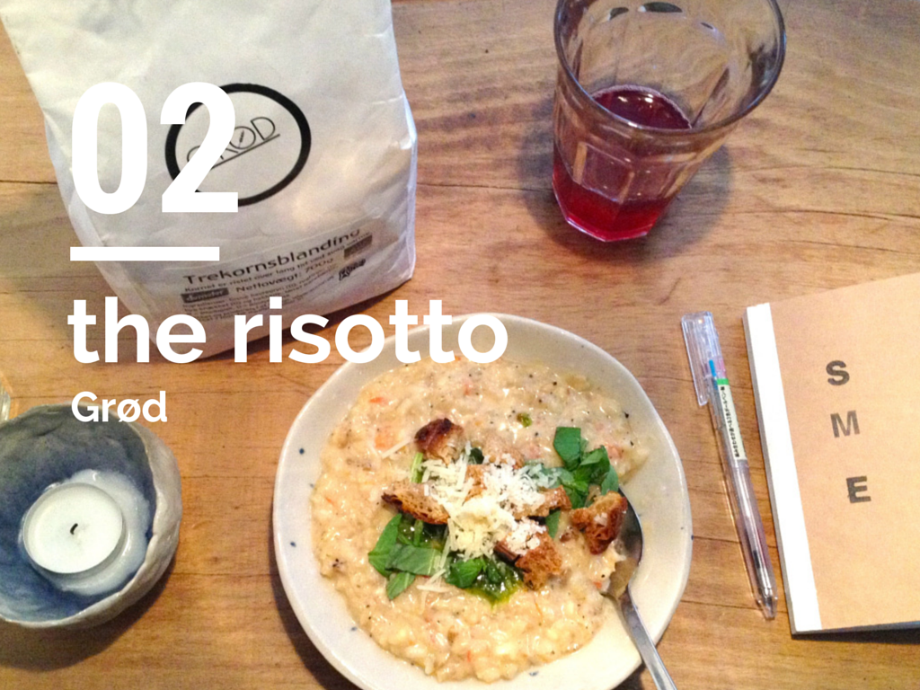 the risotto at Grød