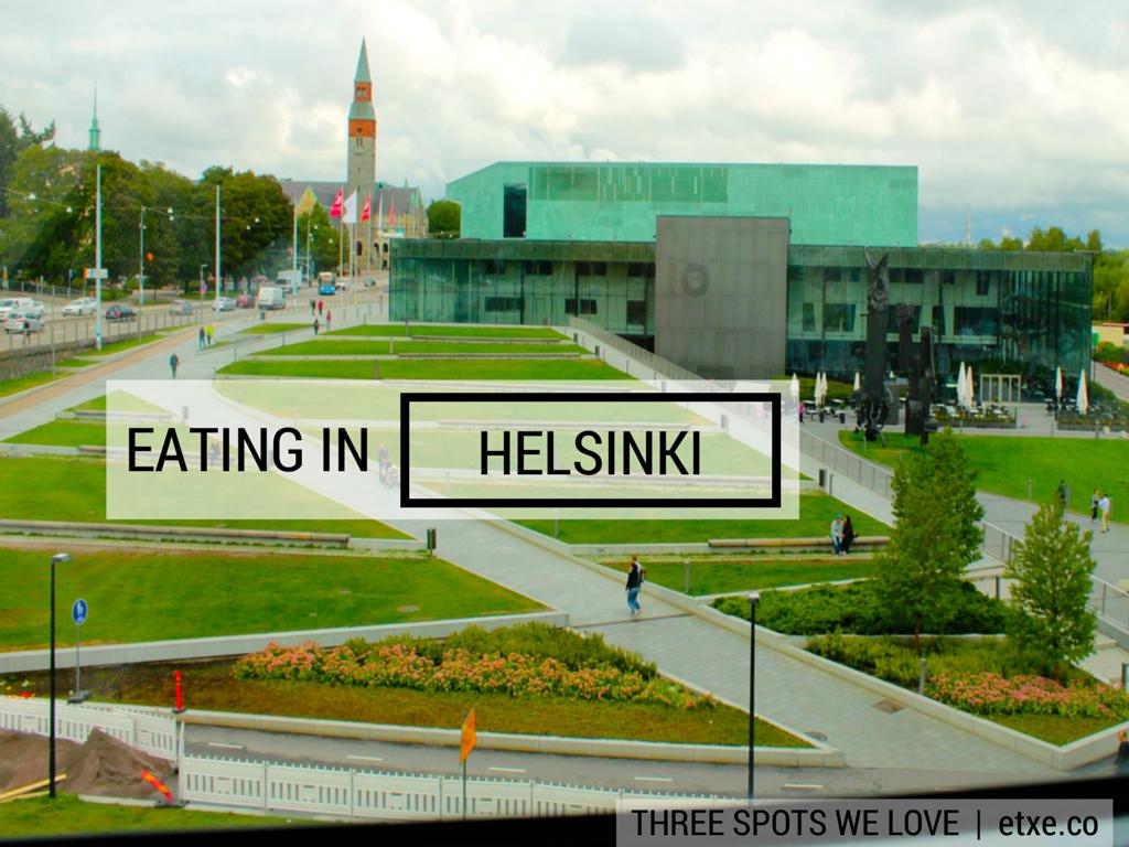 Eating in Helsinki