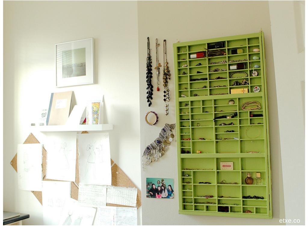 jewelry cabinet paint etxe