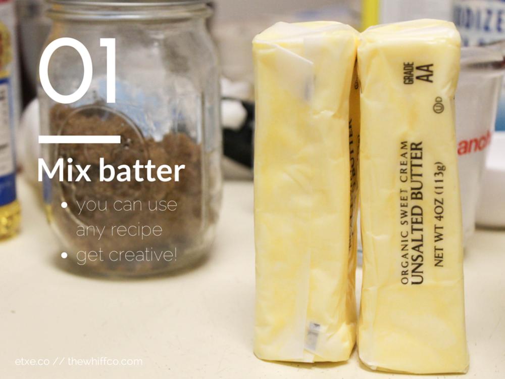 Mix Batter