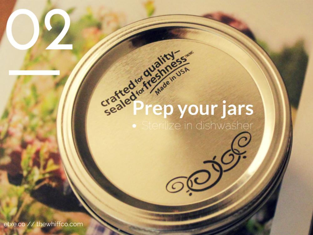 Prep Jars
