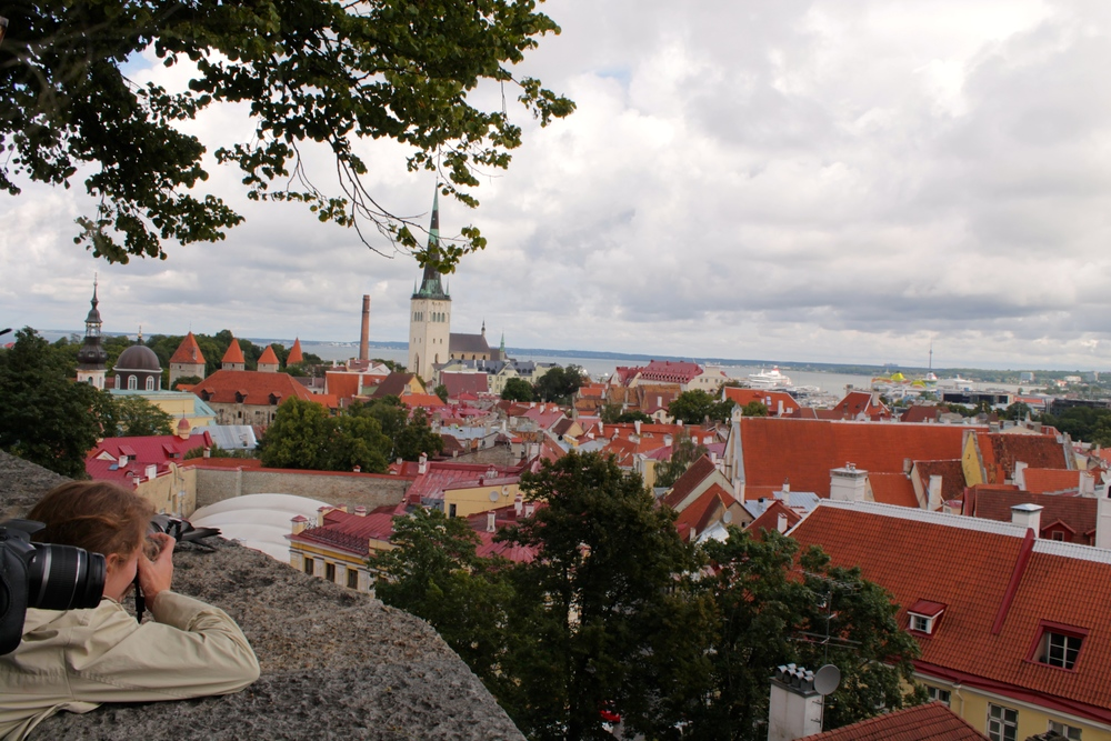 View of Tallinn/Reval