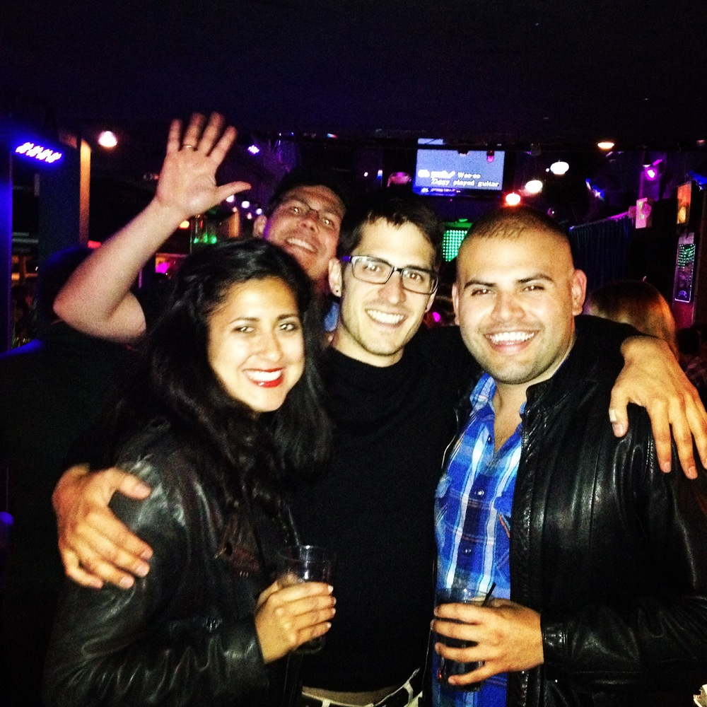 With my best buds - at the Mint singing karaoke. Check out Oscar's blog: Confessions of a Boy Toy