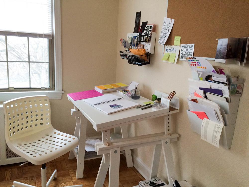 My new home studio setup!
