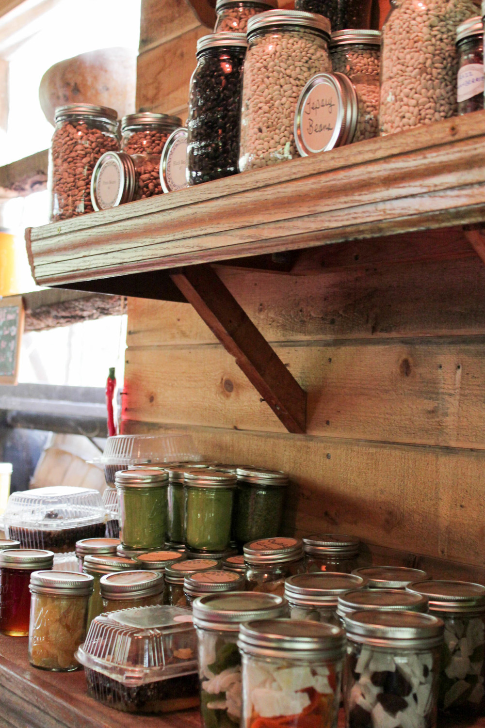 Canned Jams at Singh Farms