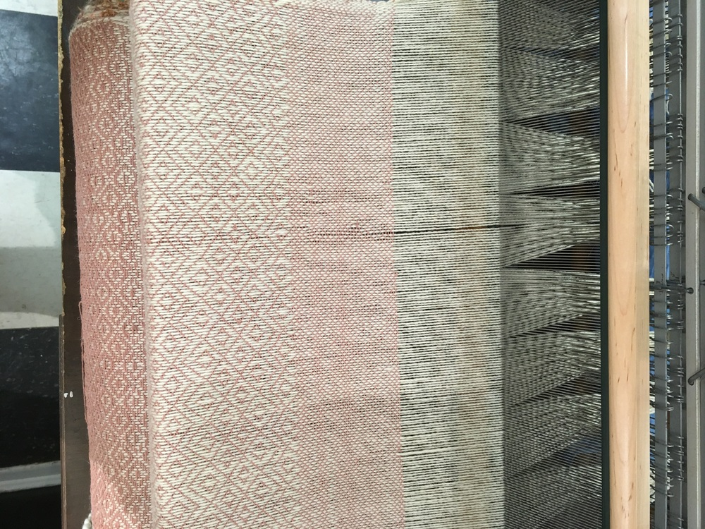 End of weaving project