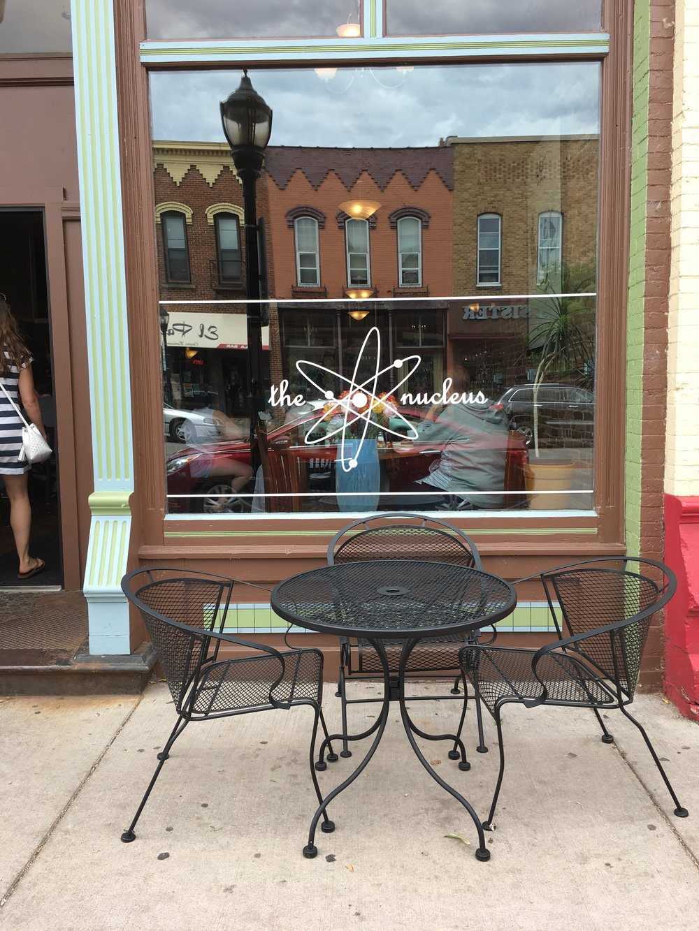 Nucleus Cafe in Eau Claire, Wisconsin