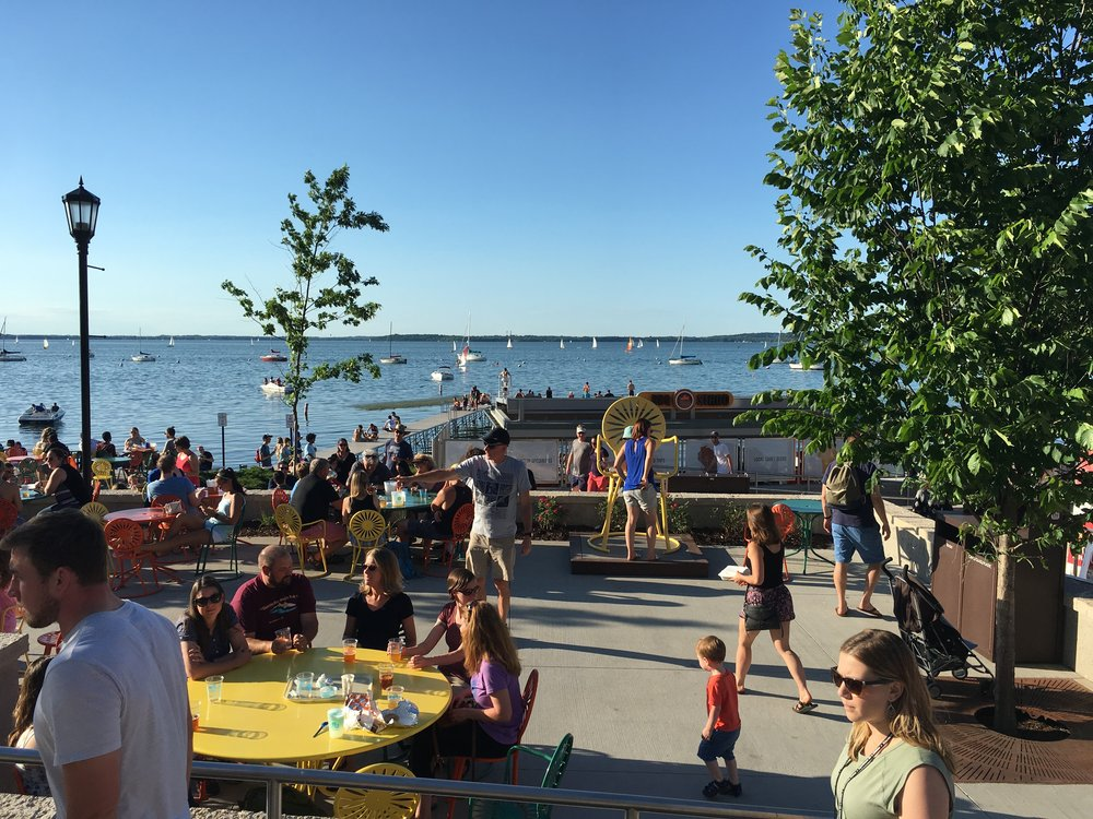 The Terrace at Memorial Union in Madison