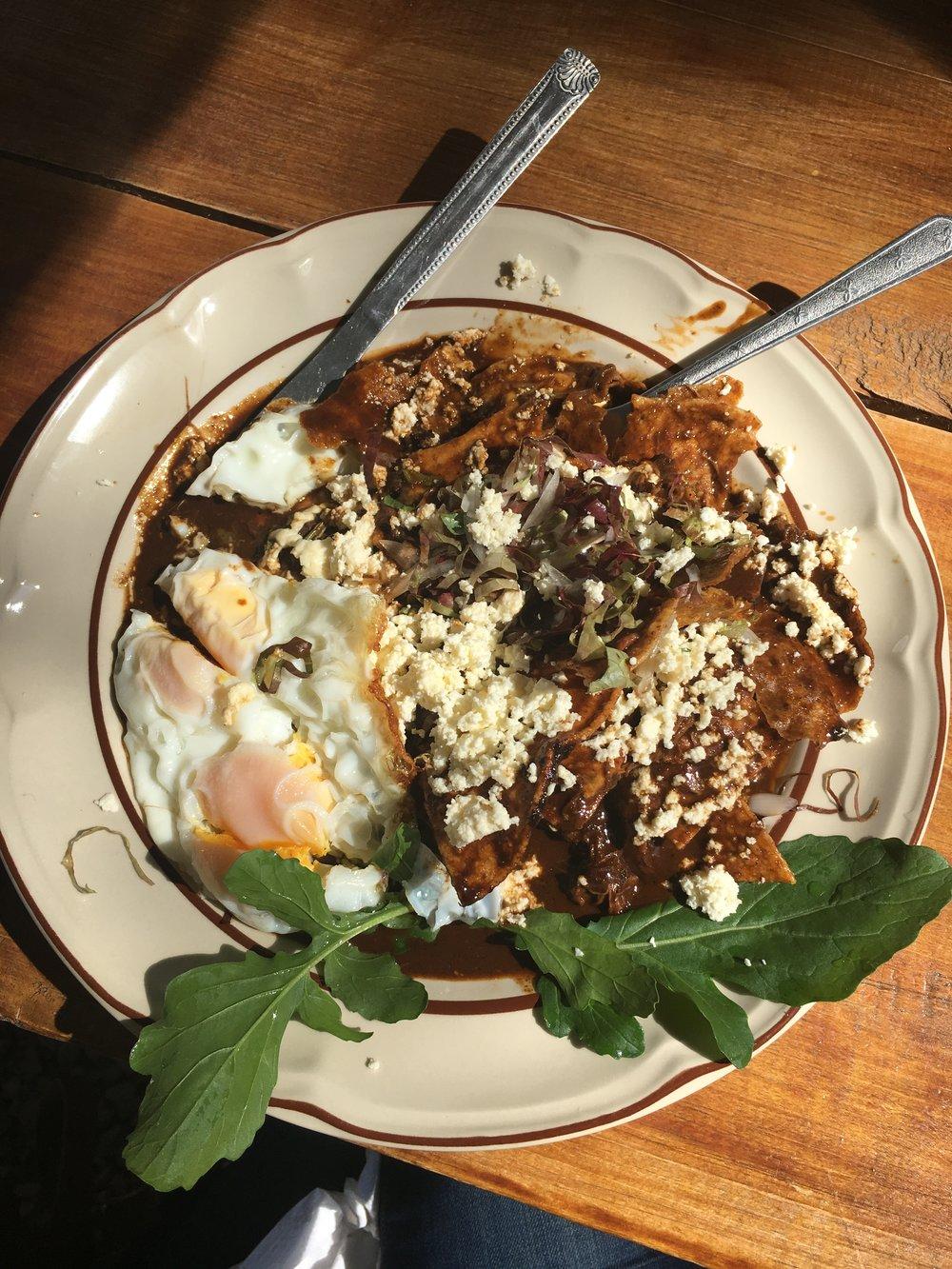 Meal at La Cosecha