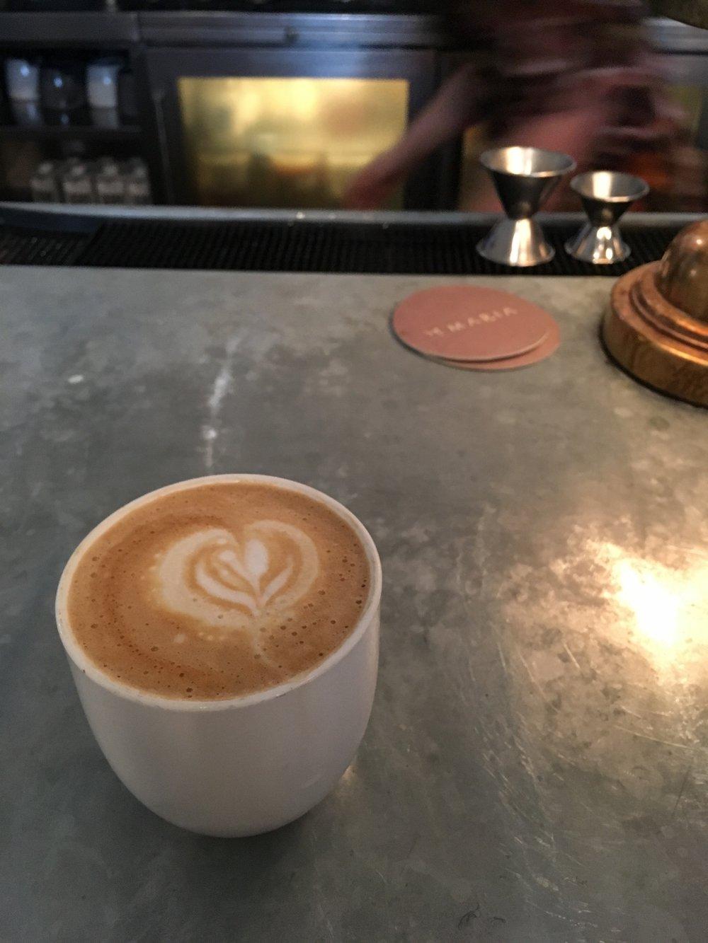 Coffee at De Maria