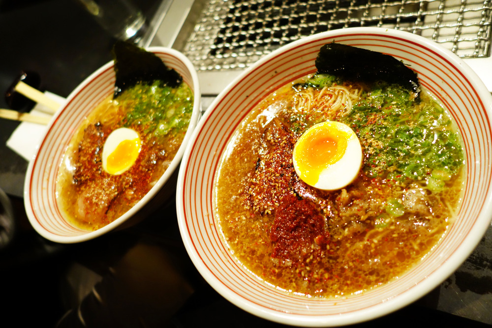 GLORIOUS BEEF BROTH RAMEN...AT MIDNIGHT, ONLY AT TAKASHI!