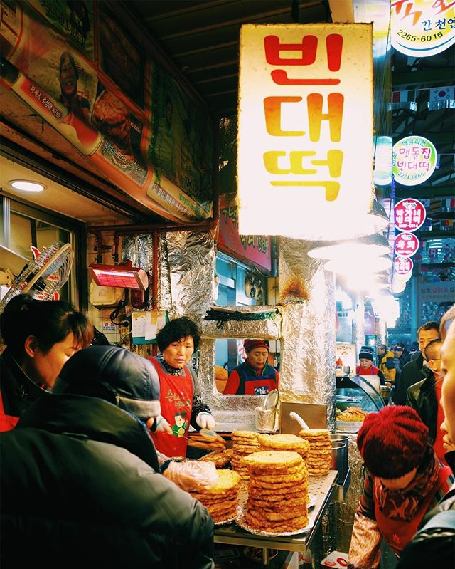 Missing home, makgeoli, and mung bean pancakes 🇰🇷
