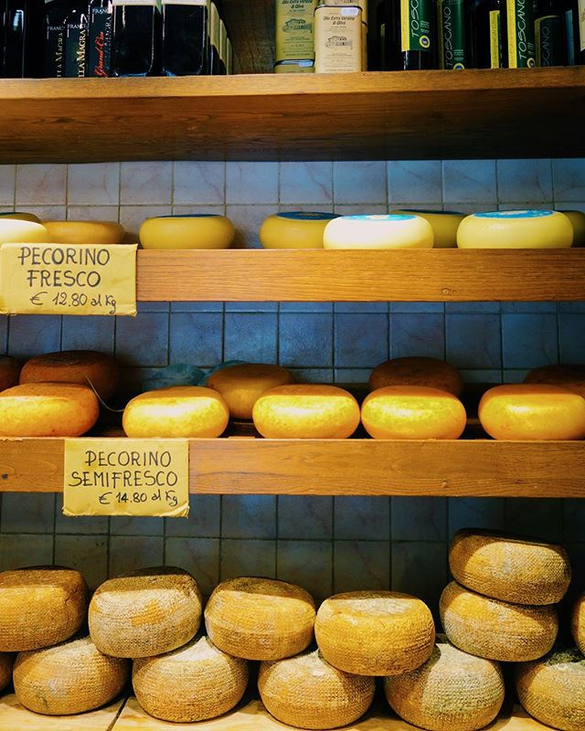 """Pienza is supposed to have the most amazing pecorino cheese"" -@masterofnone 🧀"