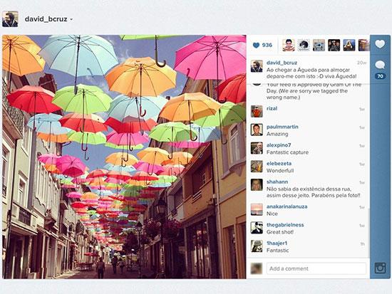 A popular Instagram photo