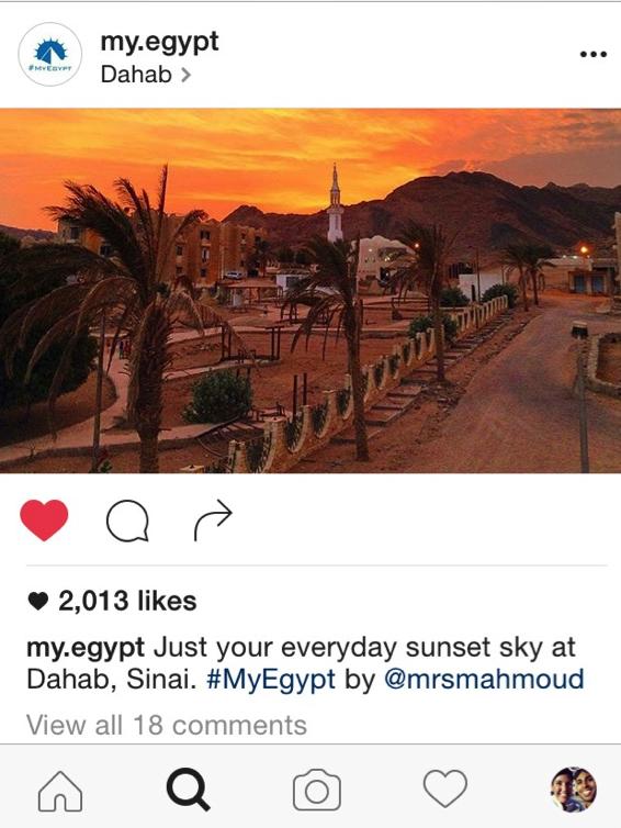 Egypt on Instagram