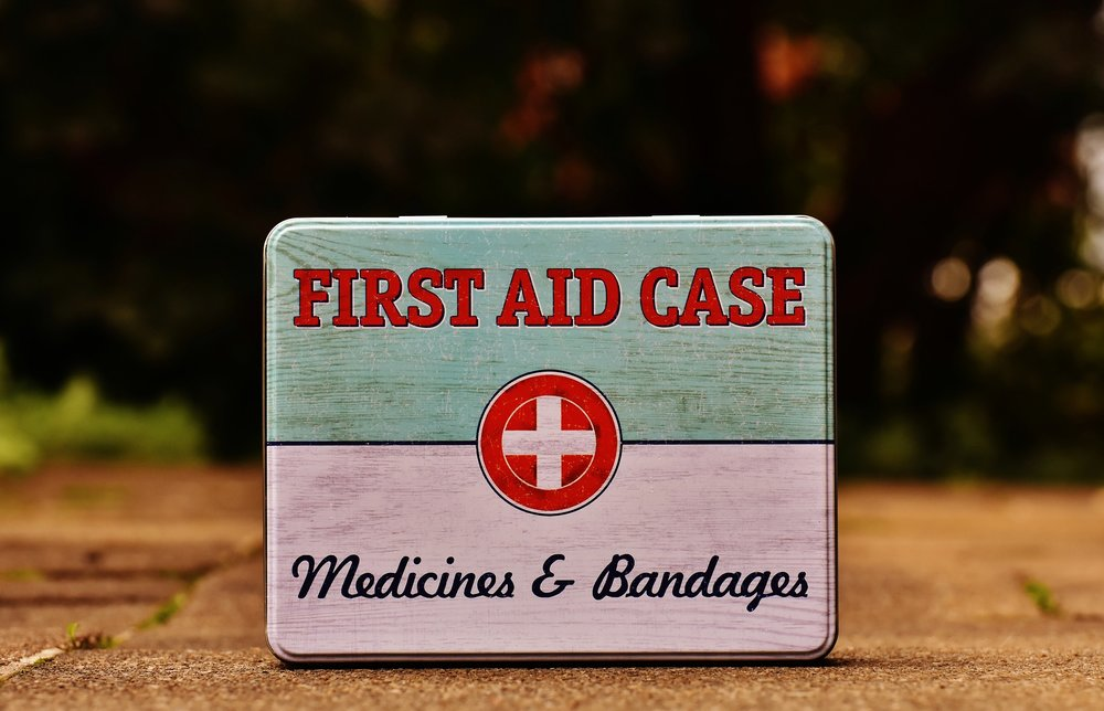 manage my website first aid box