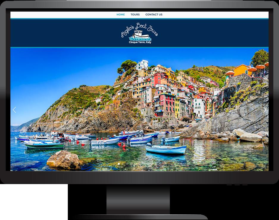 Squarespace tourism website