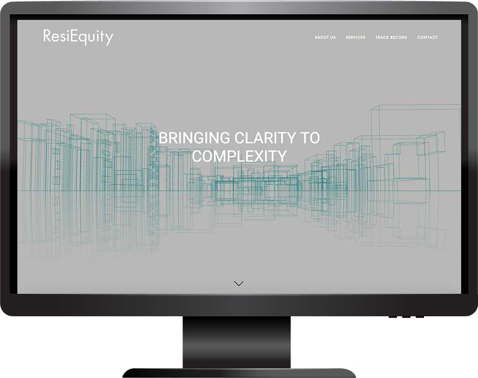 ResiEquity desktop view