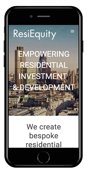 ResiEquity mobile view