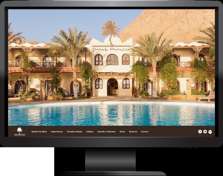 Squarespace Hotel Website