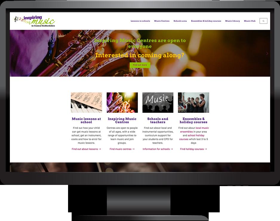 Squarespace Council Website Music