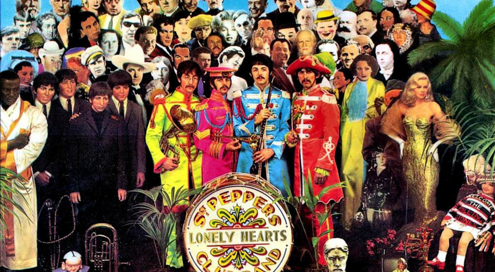 The Beatles: Sgt Pepper's Lonely Hearts Club Band Album Cover